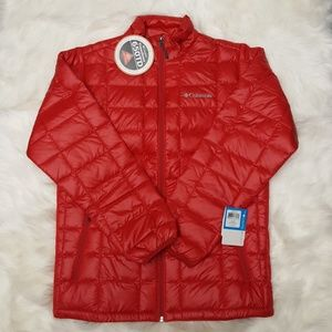 Columbia Men's Red Turbo Jacket Size Small